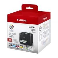 Canon PGI-2500XLCMYK комплект CMYK мастилени касети