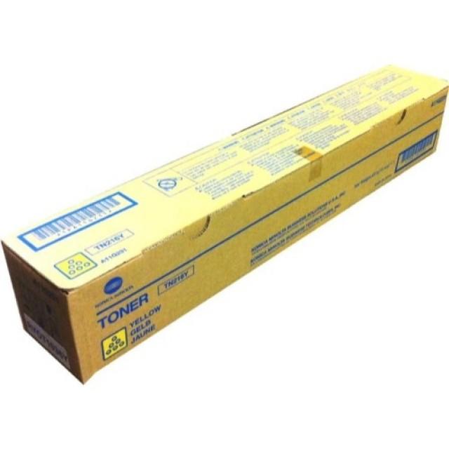 Konica Minolta TN-216Y оригинална жълта тонер касета
