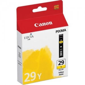 Canon PGI-29Y жълта мастилена касета