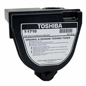 Toshiba T-1710 оригинална черна тонер касета