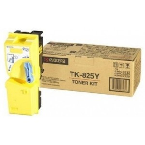 Kyocera TK-825Y оригинална жълта тонер касета