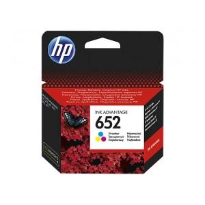HP F6V24AE трицветна мастилена касета 652