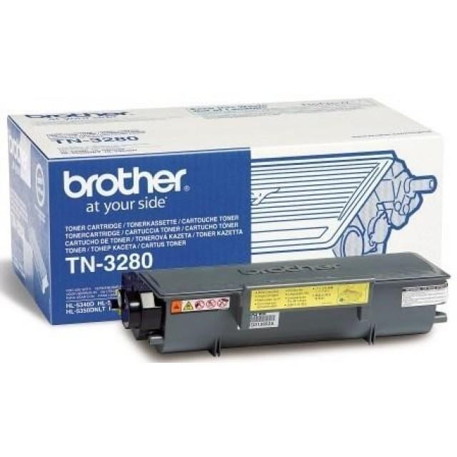 Brother TN-3280 оригинална черна тонер касета