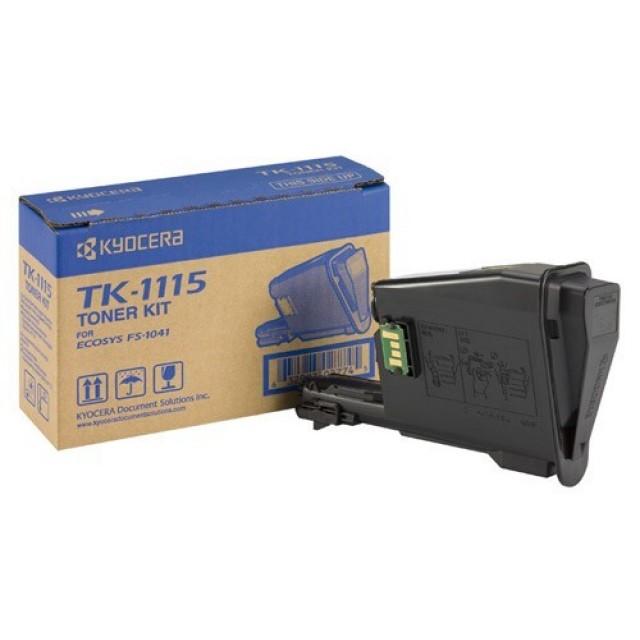 Kyocera TK-1115 оригинална черна тонер касета