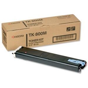 Kyocera TK-800M оригинална червена тонер касета