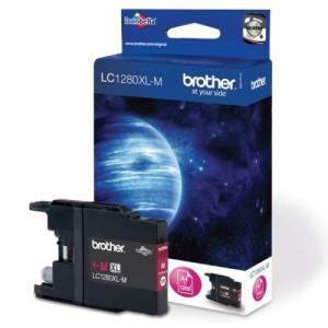Brother LC-1280XLM червена мастилена касета