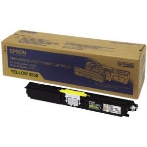 Epson C13S050558 оригинална жълта тонер касета