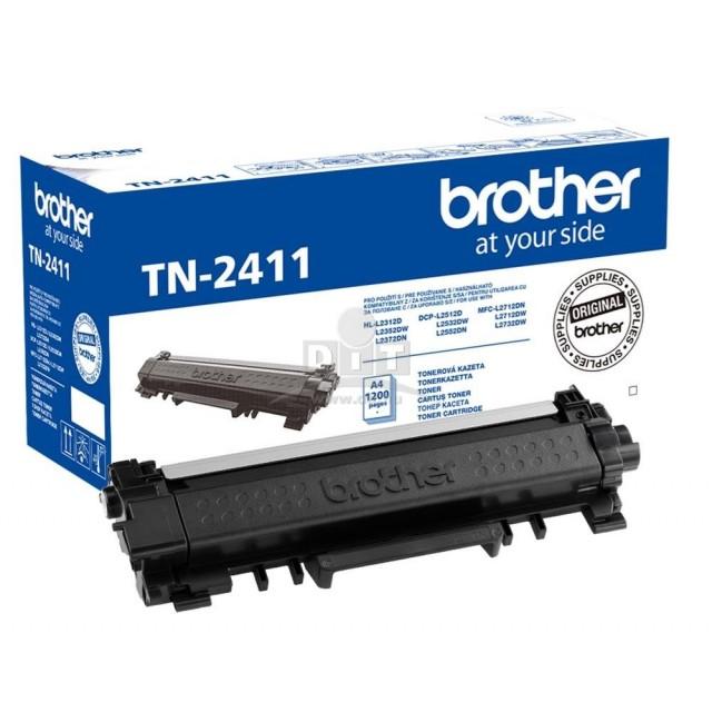Brother TN-2411 оригинална черна тонер касета
