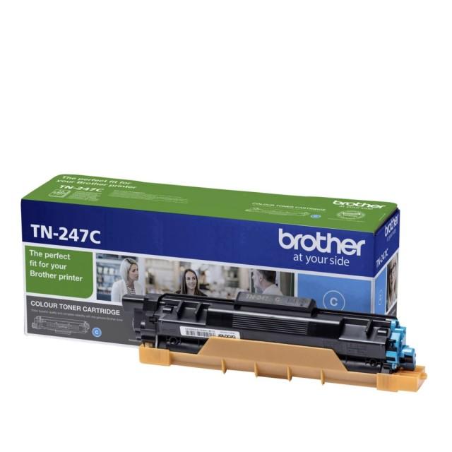 Brother TN-247C оригинална синя тонер касета
