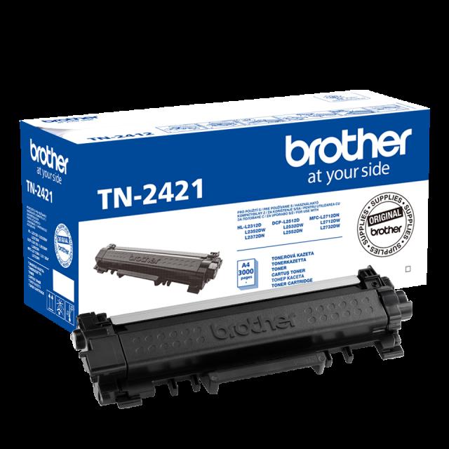 Brother TN-2421 оригинална черна тонер касета