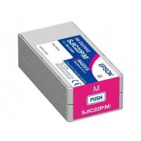 Epson SJIC22P(K) червена мастилена касета