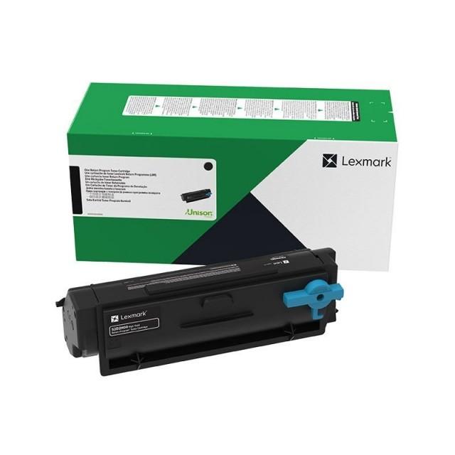 Lexmark 55B2000 оригинална черна тонер касета