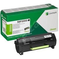 Lexmark 56F2H00  оригинална черна тонер касета