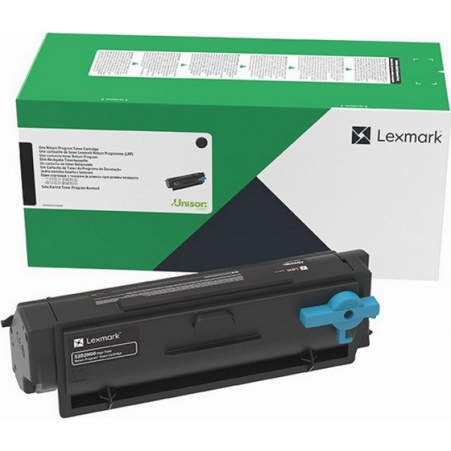Lexmark 55B2H00 оригинална черна тонер касета