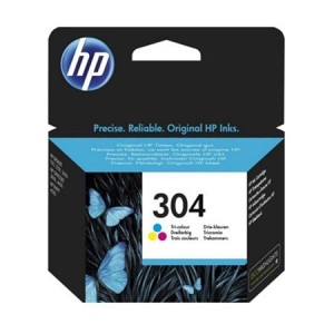 HP N9K05AE трицветна мастилена касета 304