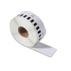 Brother DK-22210 съвместима непрекъсната хартиена лента, черен текст на бяла основа