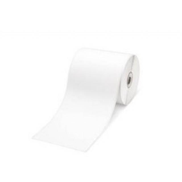 Brother RD-S07E5 непрекъсната хартиена етикетна лента, бяла