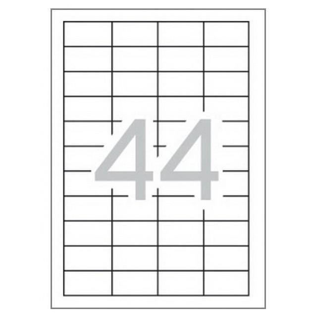 Етикети 48.5x25.4 mm, самозалепващи Multi 3