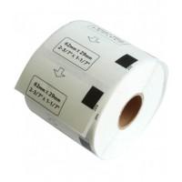 Brother DK-11209 съвместими малки адресни етикети, черен текст на бяла основа