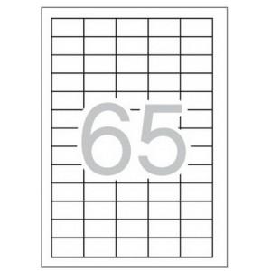 Eтикети 38 x 21.2 mm, самозалепващи Multi 3