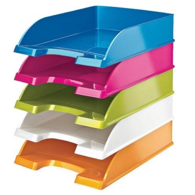 Поставка за документи Leitz Wow Color