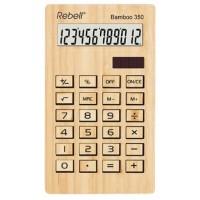 Настолен калкулатор Rebell Bamboo 350 WB