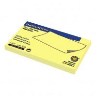Самозалепващи листчета Office Point Жълт 12,5 x 7,5 сm