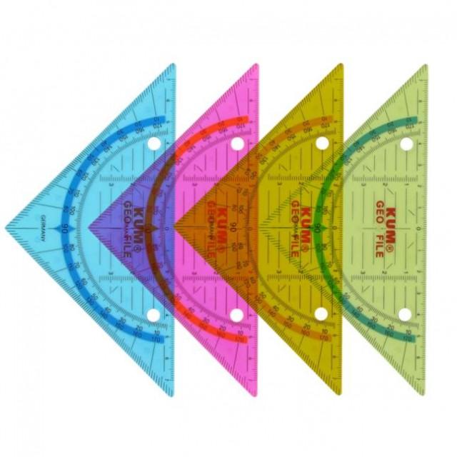Дескриптивен триъгълник Wedo 16cm 45°