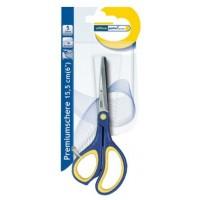 Ножица лукс Office Point 15.5 cm гумени дръжки