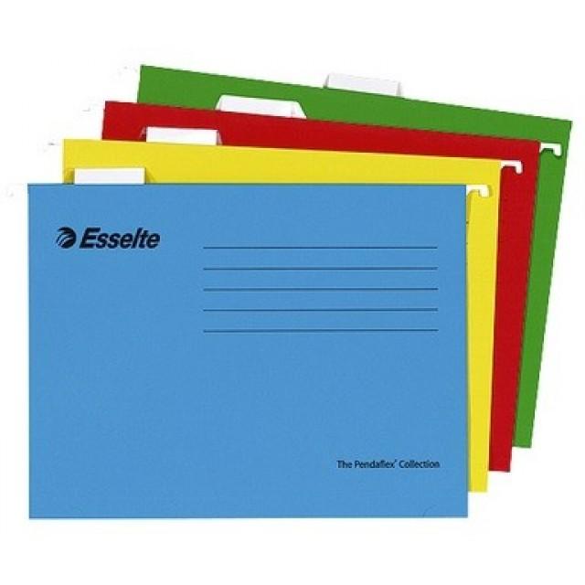 Папка V-образна за картотека Esselte Pendaflex