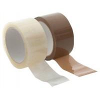 Лепяща опаковъчна лента безцветна 48 mm x 60 m