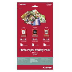 Canon Photo Paper Variety Pack 10x15cm VP-101
