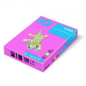 Цветна копирна хартия IQ Color OPI74 розов (фламинго), пастел, A4 80 гр.