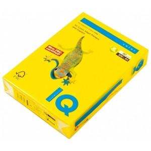 Цветна копирна хартия IQ Color IG50 жълт (горчица), наситен, A4 80 гр.