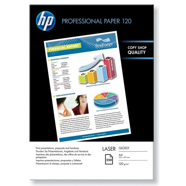 Фото хартия HP Professional 120, гланц