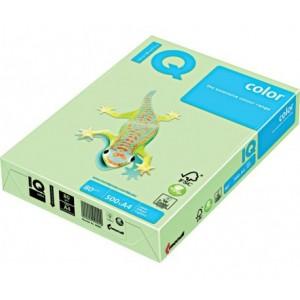 Цветна копирна хартия IQ Color GN27 зелен, пастел, A4 80 гр.