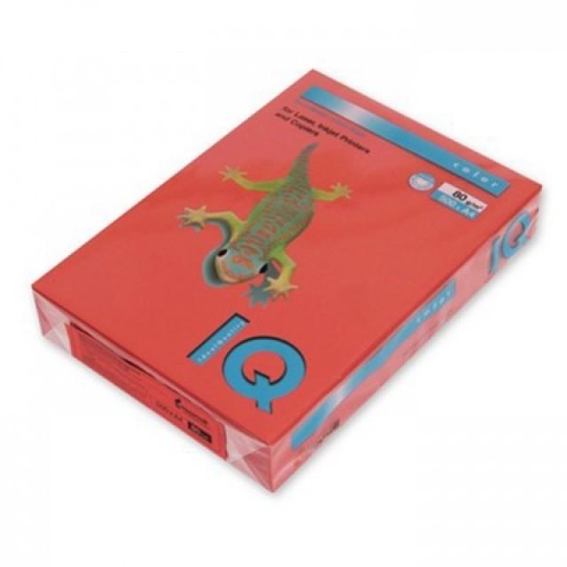 Цветна копирна хартия IQ Color ZR09 керемиденочервен, наситен, A4 80 гр.