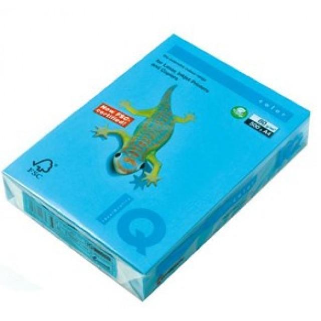 Цветна копирна хартия IQ Color AB48 морскосин, наситен, A4 120 гр.