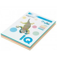 Цветна копирна хартия IQ Color пастел микс, A4 80 гр.