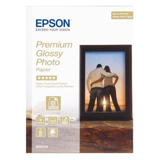 Фото хартия Epson Premium, гланц
