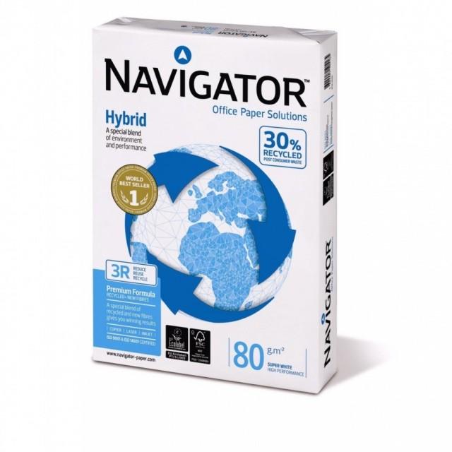 Рециклирана копирна хартия Navigator Hybrid