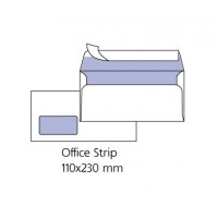 Бели пликове с ляв прозорец Pigna DL