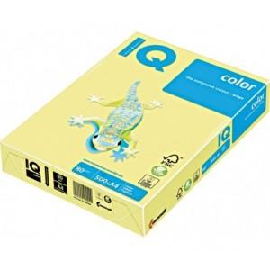 Цветна копирна хартия IQ Color BE66 ванилов, пастел, A4 80 гр,