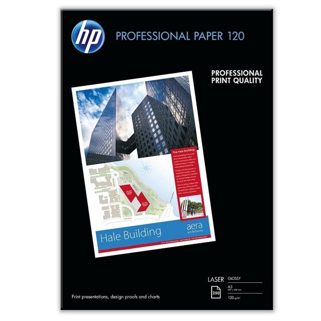 Фото хартия HP Professional 120, гланц