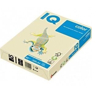 Цветна копирна хартия IQ Color CR20 кремав, пастел, A4 80 гр.