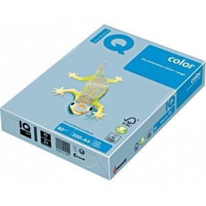 Цветна копирна хартия IQ Color OBL70 студеносин, пастел, A4 80 гр.