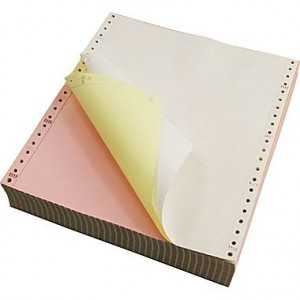Трипластова безконечна хартия Артист 380/11/3, цветна, 600 листа