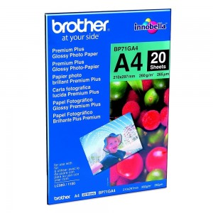 Фото хартия Brother Premium Plus BP71GA4, гланц BP71GA4