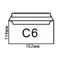 Плик бял C6 114х162