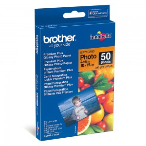 Фото хартия Brother BP71GP50, гланц
